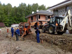 Prace drogi - kanaliza - woda - oferta - duze